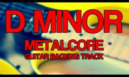 backing track guitar metalcore