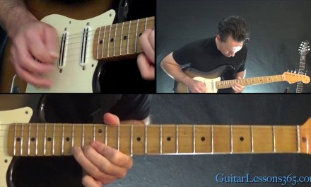 Queen – The Show Must Go On Instrumental Guitar Lesson (Part 2)