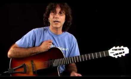 Jazz Guitar Lessons – Inversion Excursion – C Major Chord Inversions 1
