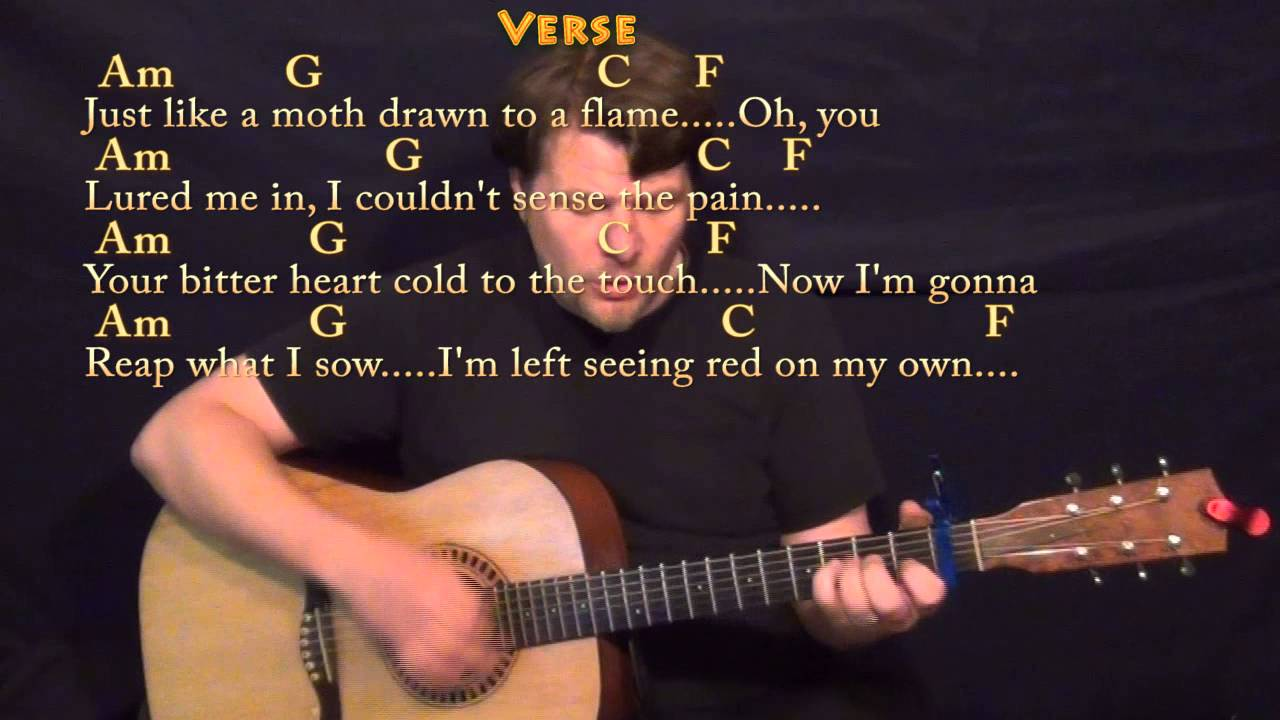 Stitches Shawn Mendes Guitar Cover Lesson With Chordslyrics