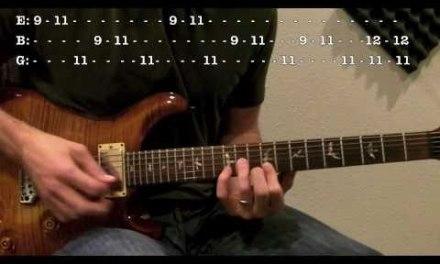 Run (Hilsong United) – Guitar Lesson
