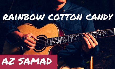 Rainbow Cotton Candy (DADGAD Harmonics Fingerstyle Guitar) – Az Samad [1080p HD]