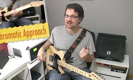 Chromatic Approach Blues Guitar Lesson