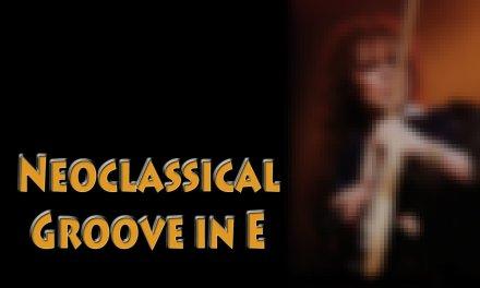 Neoclassical Backing Track in E (76 bpm)
