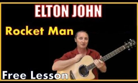 Free Lesson – Rocket Man by Elton John