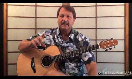 Pancho And Lefty  Acoustic Guitar Lesson – Townes Van Zandt