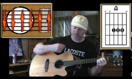 Friday I'm In Love – The Cure – Acoustic Guitar Lesson (easy-ish)