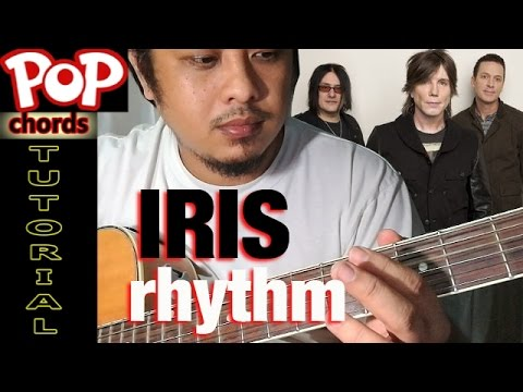 Goo Goo Dolls IRIS (Chords) Acoustic Guitar No Capo Easy Rhythm ...