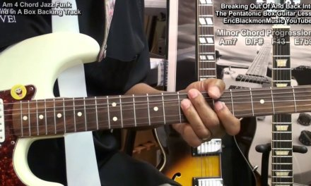 How To Break Out Of The Pentatonic Box Guitar Tutorial Lesson EBMTL HD
