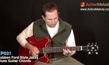 Robben Ford Style Blues Rhythm Guitar Lesson – EP031