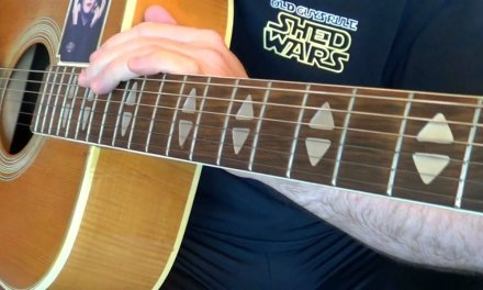 Monk Guitar Lesson – Blues rhythm practice and 2 Oct Majors