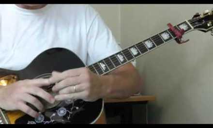 Lonnie Johnson Guitar Lesson – Blues in G Part 1
