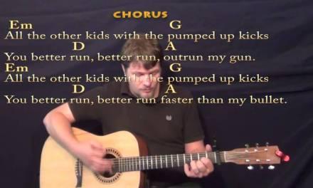 Pumped Up Kicks – Strum Guitar Cover Lesson with Chords/Lyrics