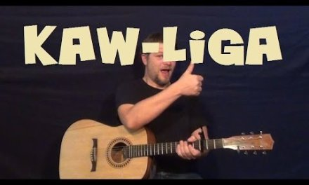 Kaw-Liga (Hank Williams) Easy Strum Guitar Lesson How to Play Tutorial