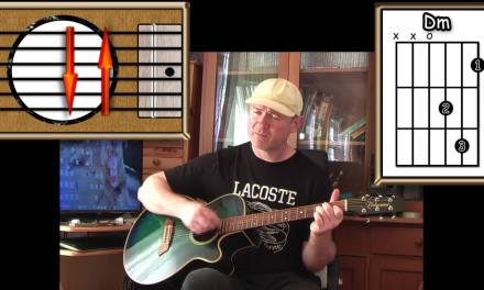 Golden Slumbers / Carry That Weight – The Beatles – Acoustic Guitar Lesson (detune by 1 fret)