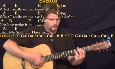 Santeria (Sublime) Reggae Guitar Cover Lesson in E with Chords/Lyrics
