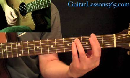 Across The Universe Guitar Lesson – The Beatles – Acoustic Standard Tuning