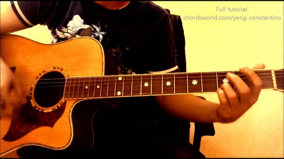 Hawak Kamay Chords Yeng Constantino Chordsworld Guitar