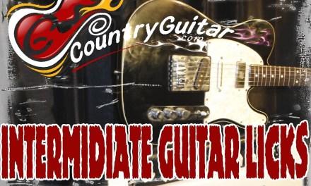 Counrty Guitar Lesson: IV21 Cowboy Jazz
