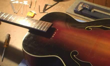 1957 National Dynamic 1125 Guitar Repair Part 2