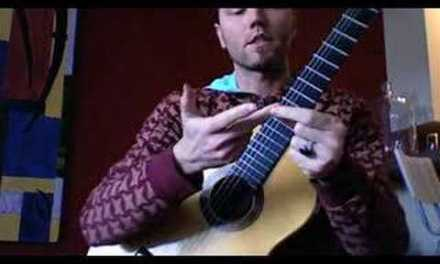 Classical Guitar Lesson: 3 note per string scales