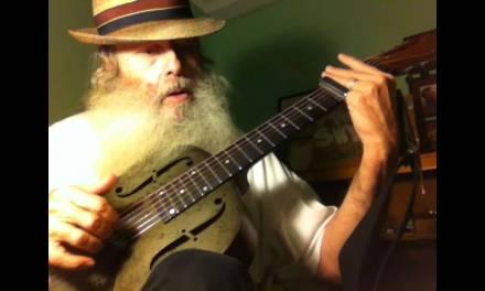 Slide Guitar Blues Lesson – Basic Blues in Open D Guitar lesson On My National Steel Resonator!