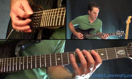 Holy Wars Guitar Lesson – Megadeth – Chords/Rhythms Part 2