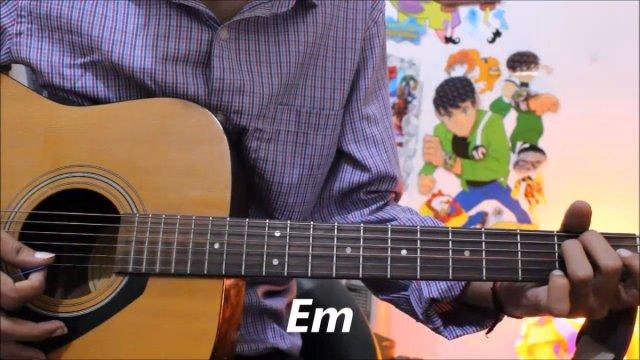 Tera Hoke Rahoon Arijit Singh Guitar Cover Lesson Chords Easy