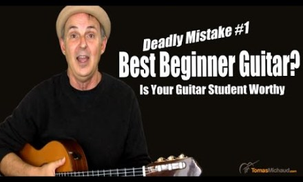 What's The Best Guitar For Beginners? Avoid Deadly Mistake #1