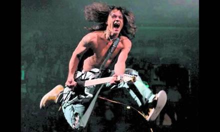 Van Halen – Jump – guitar backing track with vocals