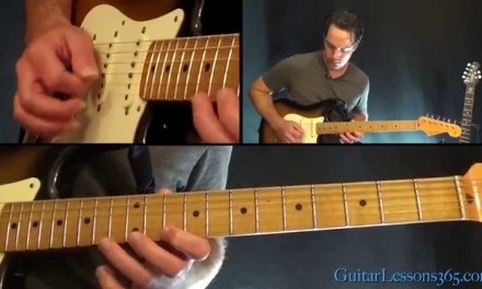 The Final Countdown Guitar Solo Lesson – Europe