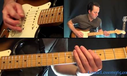 Sweet Emotion Guitar Lesson Pt.1 – Aerosmith – Rhythm Guitar Parts