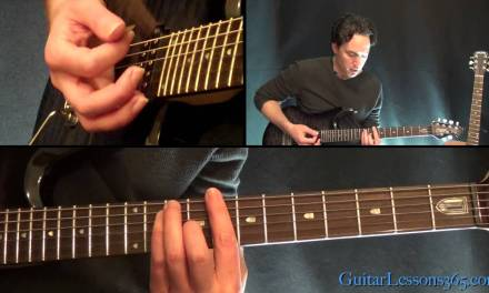 How to play Fly Away – Lenny Kravitz