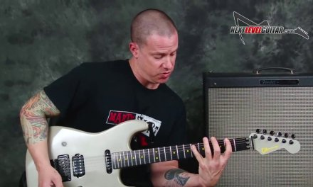 Megadeth Dave Mustaine style lead licks and rhythms guitar lesson
