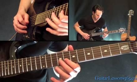 Back In Black Guitar Lesson Pt.2 – AC/DC – Solo