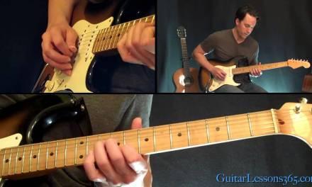 La Grange Guitar Solo Lesson – ZZ Top – Famous Solos