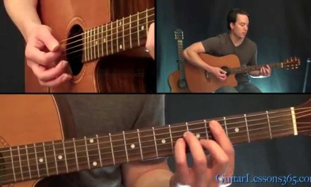 The Beatles – While My Guitar Gently Weeps Guitar Lesson (All Rhythm Parts) – Acoustic