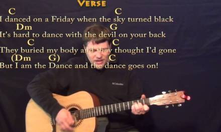 Lord of the Dance – Strum Guitar Cover Lesson in C with Chords/Lyrics