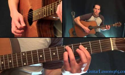 Old Love Unplugged Guitar Lesson – Eric Clapton – All Rhythm Guitar Parts