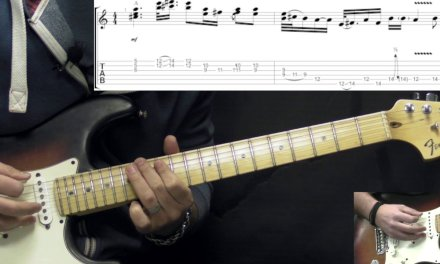 Stevie Ray Vaughan – Life Without You – Rock/Blues Guitar Lesson (w/Tabs)