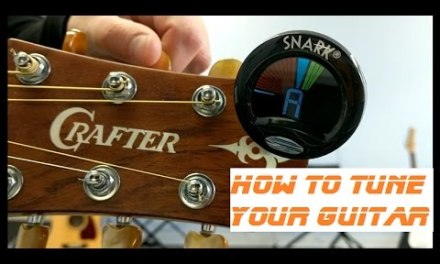 Beginner Guitar Lesson – How To Tune Your Guitar Tutorial