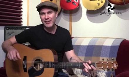 Vincent – Don McLean – Guitar Lesson BC-804 – Acoustic Fingerstyle Starry Night