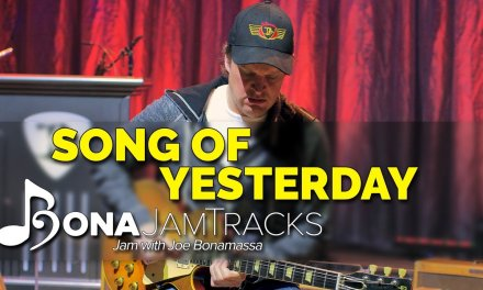 "Bona Jam Tracks – ""Song of Yesterday"" Official Joe Bonamassa Guitar Backing Track in A Minor"