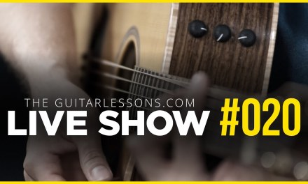 Live Show #020 – The Essential Guitar Scales