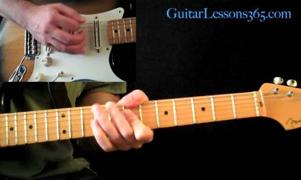 Electric Gypsy Guitar Lesson Pt.1 – Andy Timmons – Main Theme