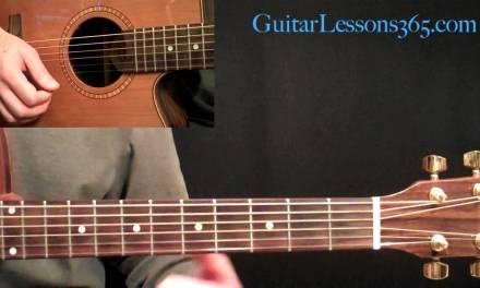 Layla Unplugged Guitar Lesson Pt.2 – Eric Clapton – Verse & Chorus