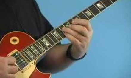 Rhythm Guitar Lesson: Moveable Blues