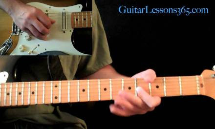 Electric Gypsy Guitar Lesson Pt.4 – Andy Timmons – Outro Solo