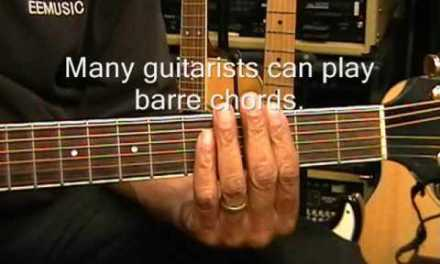 How To Use A CAPO For Beginners On Guitar Lesson EricBlackmonGuitar