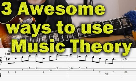 3 Awesome Ways from Music Theory to Music – Jazz Guitar Lesson